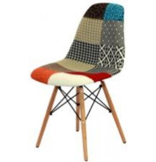 CHARLES E EAMES (DKR) PATCHWORK BASE MADEIRA (BY)